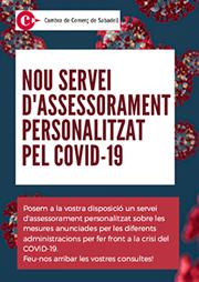 Nuevo servicio de asesoría personalizada para hacer frente a la crisis del COVID-19